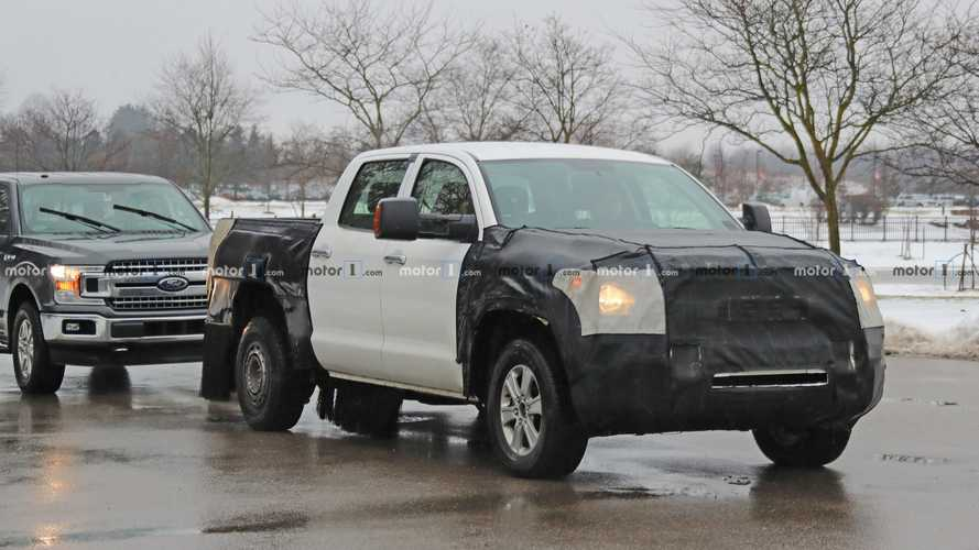2020 Toyota Tundra Spy Photo 3 of 18 | Motor1.com Photos
