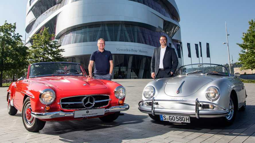 Porsche Employees Get Free Access To Mercedes' Museum
