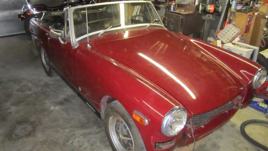 Why Saving This 1976 MG Midget Project Makes Total Sense