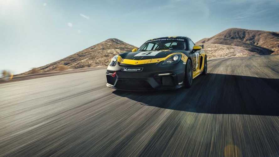 Novo Porsche 718 Cayman GT4 Clubsport resgata motor seis cilindros aspirado