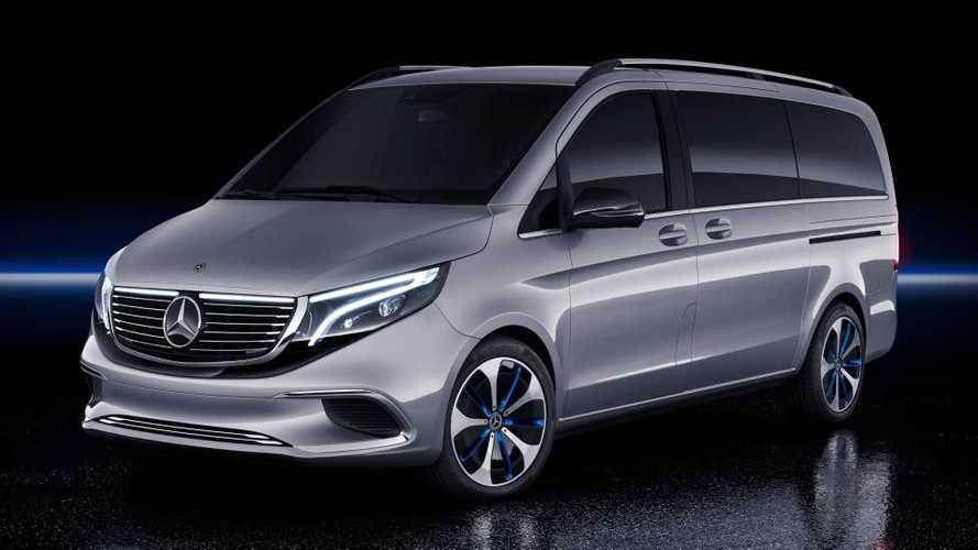 Mercedes-Benz EQV Concept, un monovolumen Premium eléctrico
