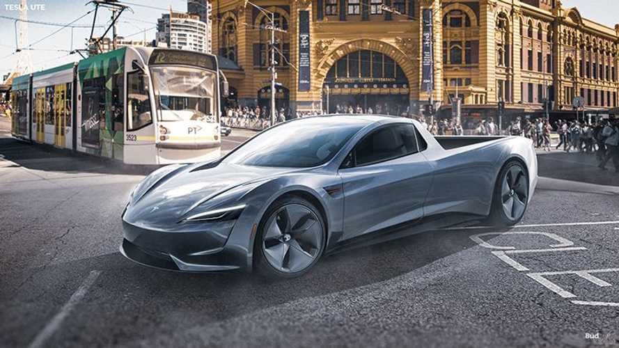 This Tesla Ute Is A Roadster-Inspired Hoot