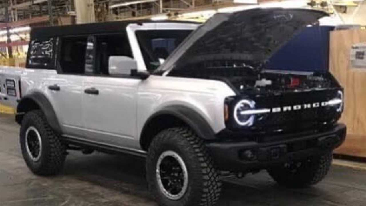 Ford Bronco Leaked Image