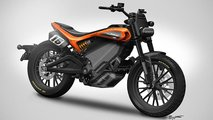 harley electric flat track concept update