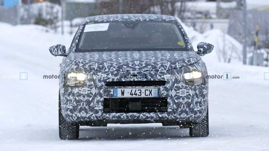 Citroen C4 Cactus replacement spy photos