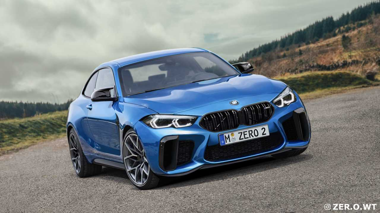 BMW M2 Coupé 2022, render
