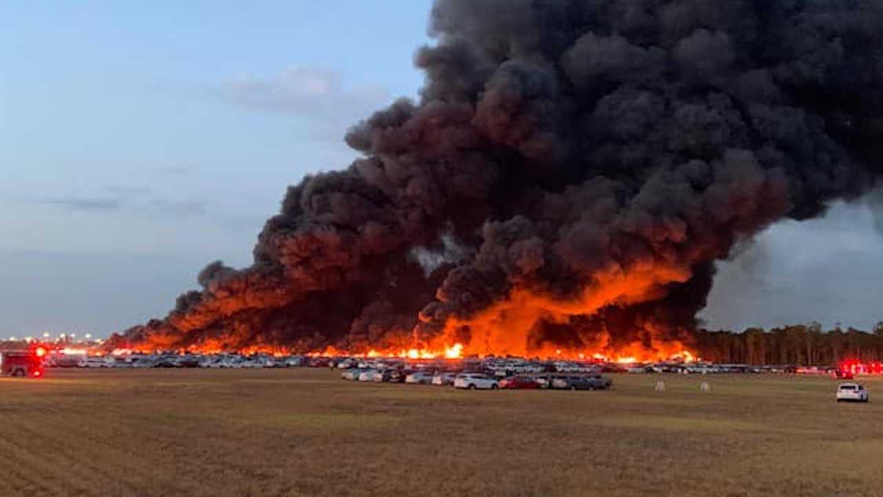 3,500 Rental Cars Destroyed By Massive Fire In Florida