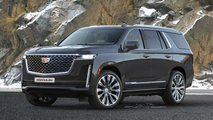 Независимые рендеры нового Cadillac Escalade