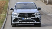 2021 Mercedes-AMG GLE 63 Coupe spy photos
