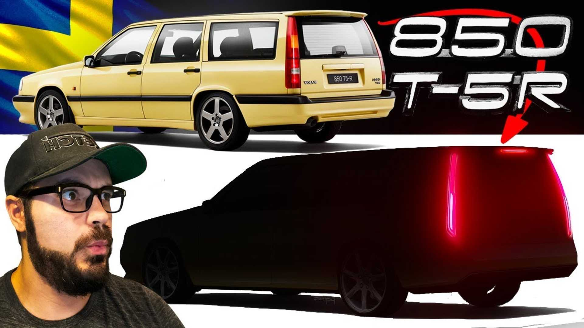 Volvo 850 R Updated For 2020 Still Looks Like A Hearse