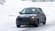 Fiat 500e new spy shots