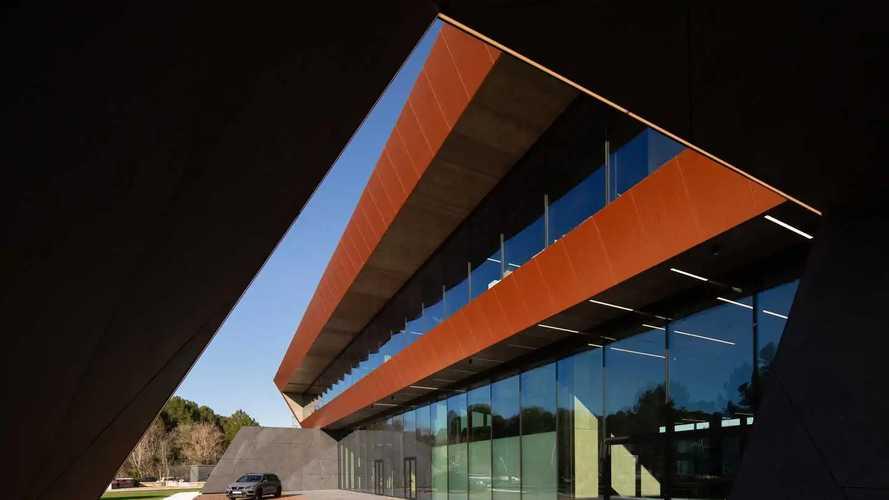 Le Cupra Garage a Martorell (Barcelone)