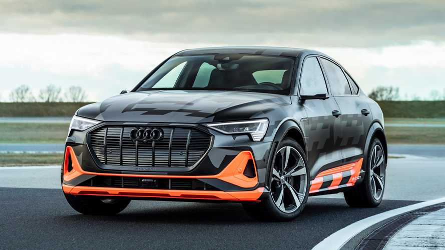 Audi E-Tron S electric crossovers debut with up to 496 bhp