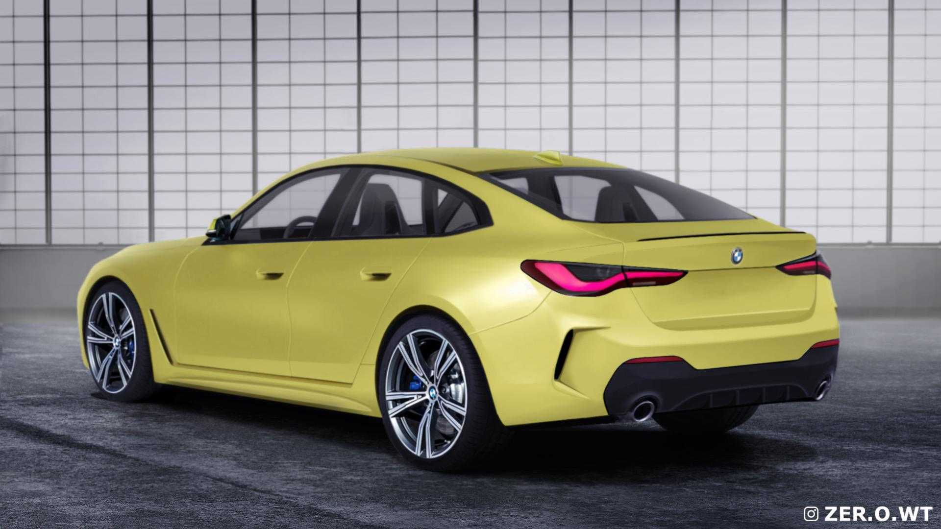 New Bmw 4 Series Gran Coupe Rendered Based On Concept I4