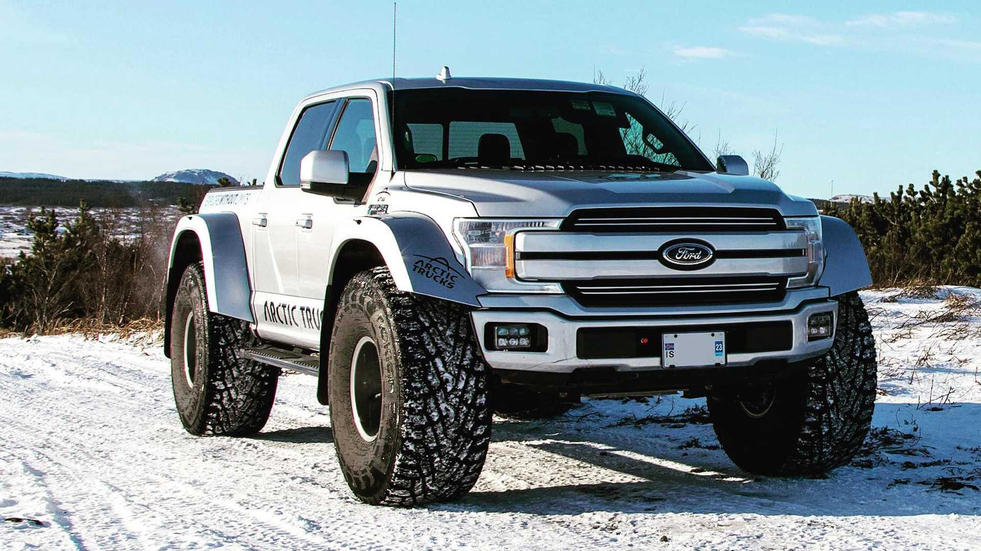 Arctic Trucks Builds A Ford F 150 That Eats Snow For Breakfast