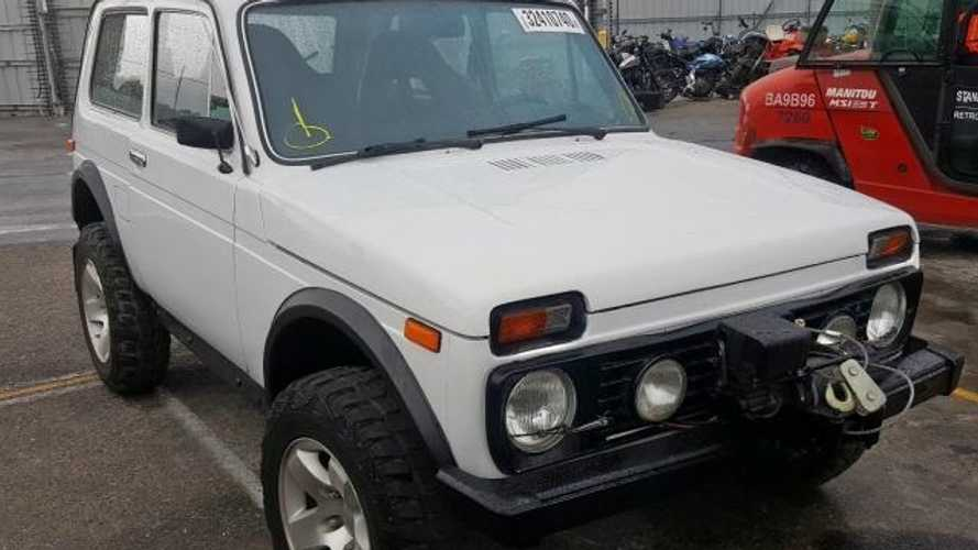 Mint 1981 Lada Niva Shows Up For Sale In the United States