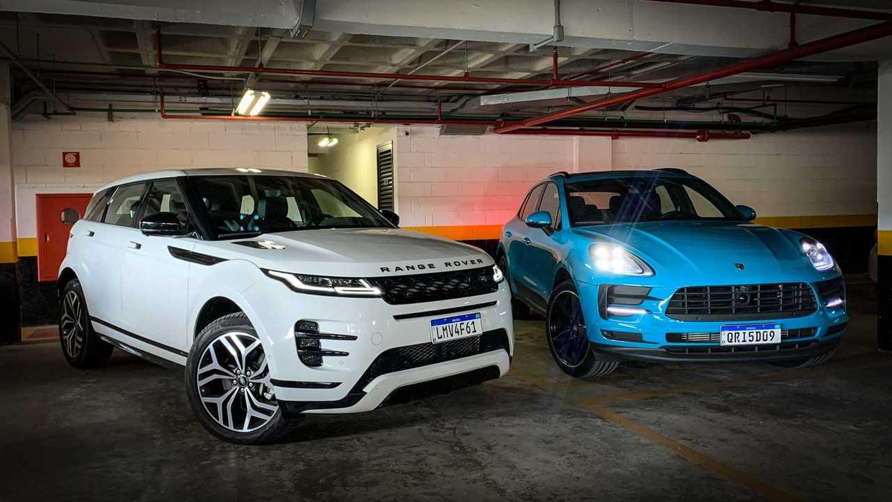 Comparativo: Ranger Rover Evoque x Porsche Macan
