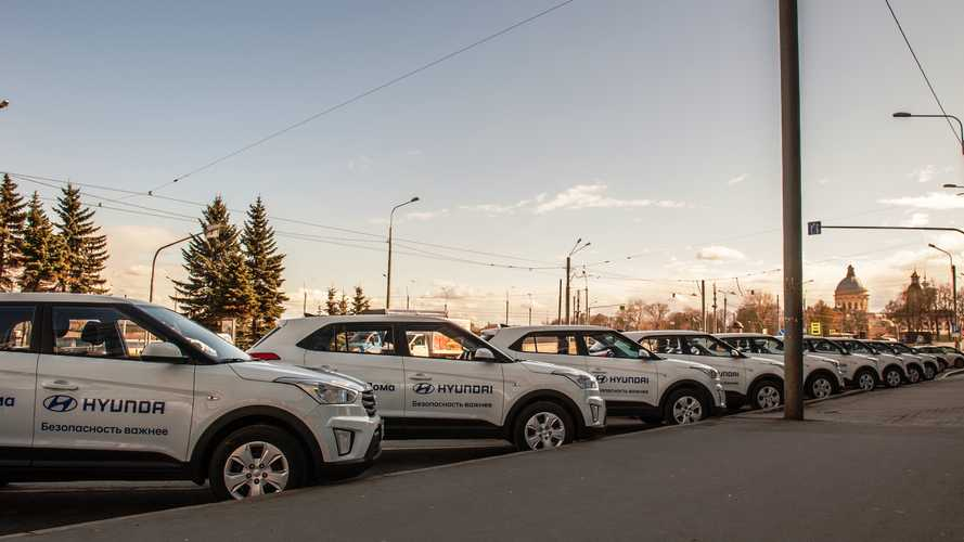 Hyundai будет бесплатно возить медиков и волонтеров