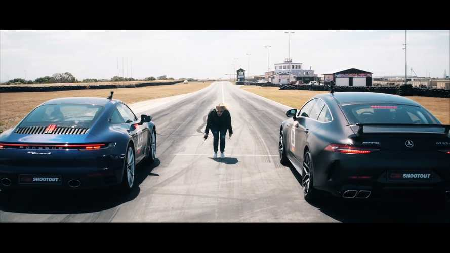 New Porsche 911 Carrera S fights AMG GT 63 S 4MATIC in drag race