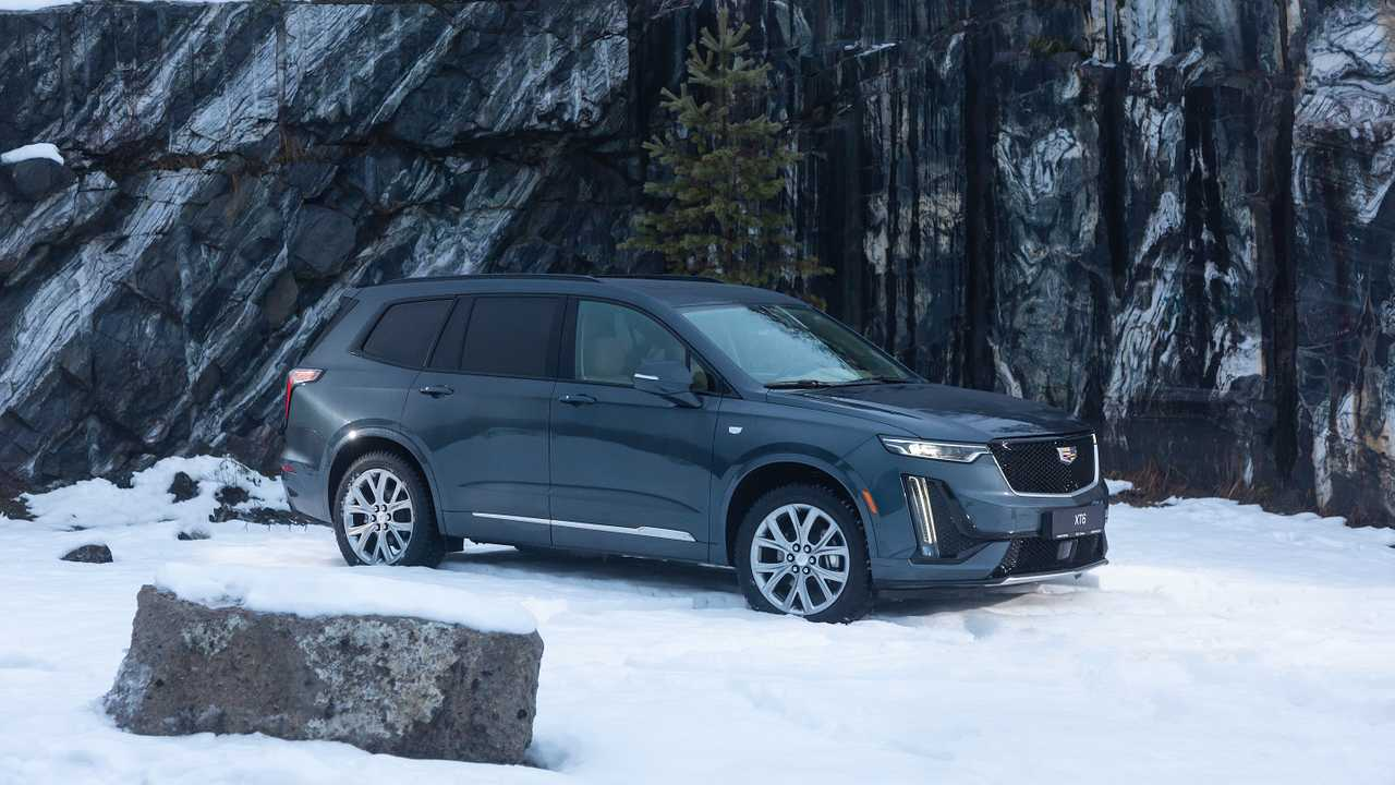 Cadillac XT6 для России