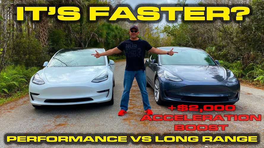 Boosted Tesla Model 3 acceleration test reveals surprising result
