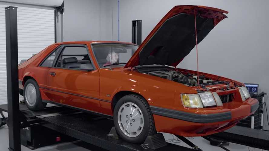 See How Much Power This Rare Ford Mustang SVO Makes After 34 Years