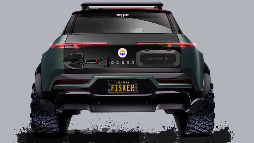 Fisker Ocean Envisioned As Off-Road-Ready Rescue Vehicle