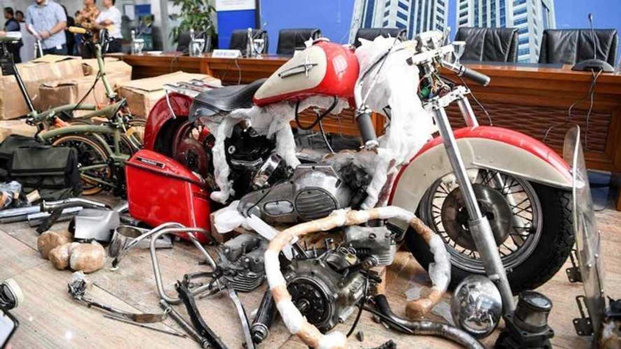 Smuggled Harley