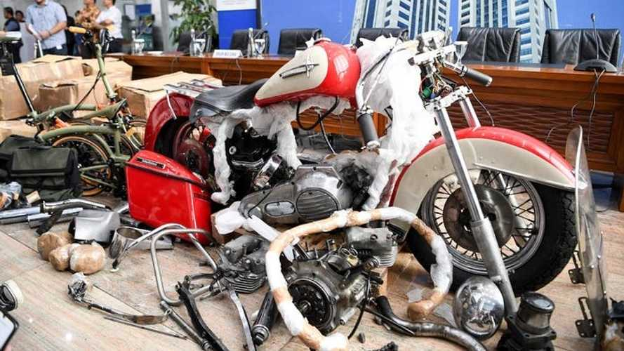 Indonesian Airline CEO Accused Of Smuggling Harley