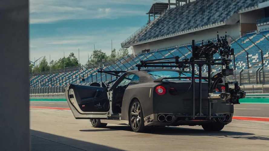 Nissan GT-R camera car