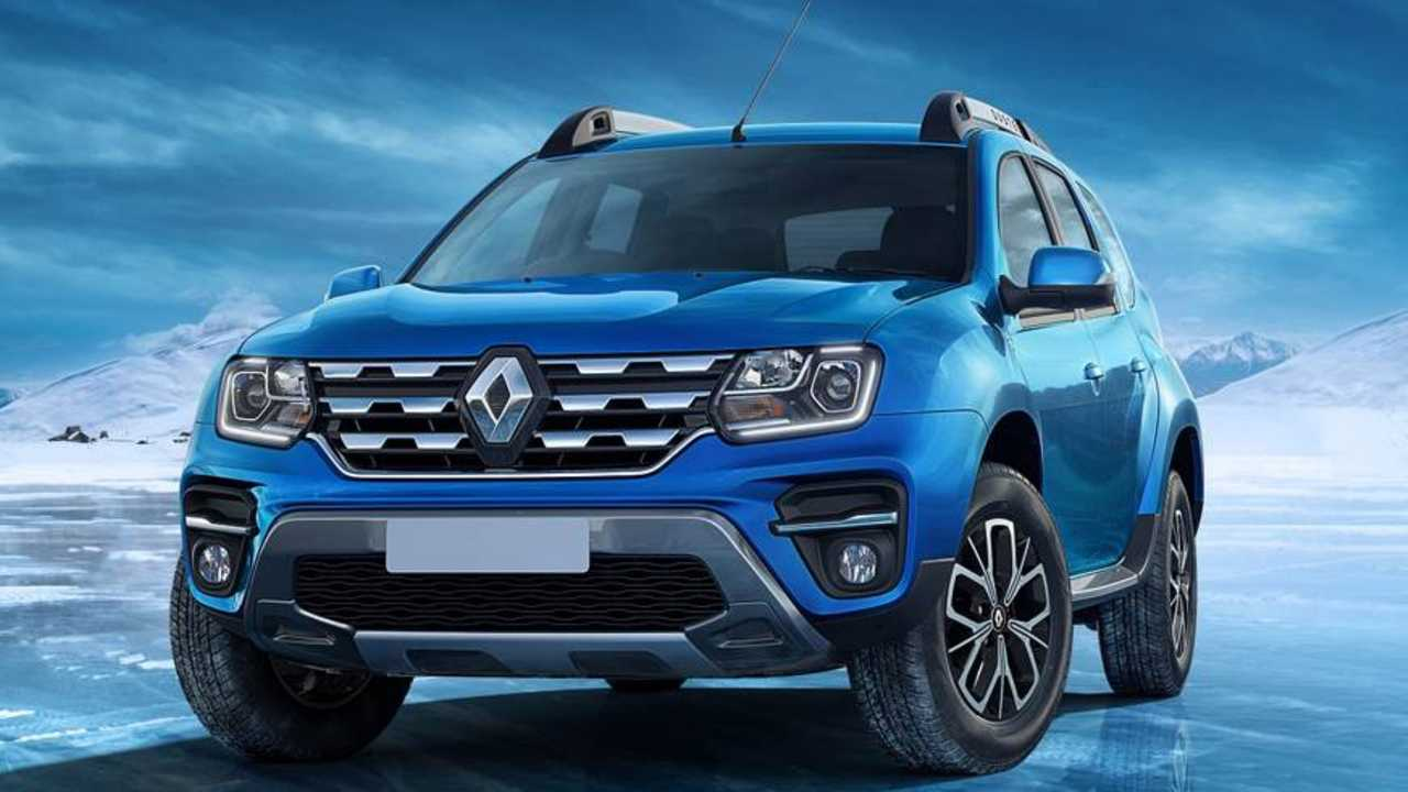 Renault Duster Facelift - Índia