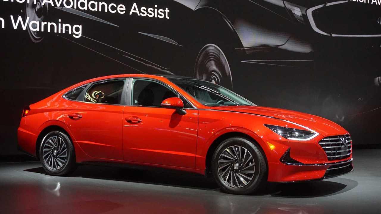 2020 Hyundai Sonata Hybrid at Chicago Auto Show