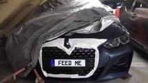 Nuova BMW Serie 4, gli scatti rubati finiti in rete