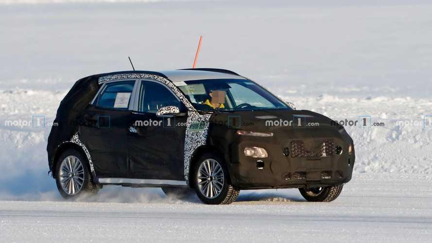 Makyajlı Hyundai Kona ilk kez görüntülendi