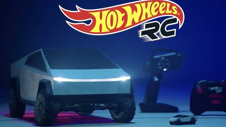 Tesla y Hot Wheels presentan un Cybertruck de radiocontrol