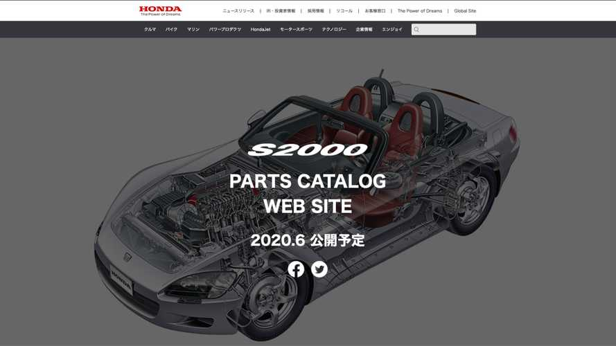 Honda Teases S2000 Parts Catalog, Needs Your Help