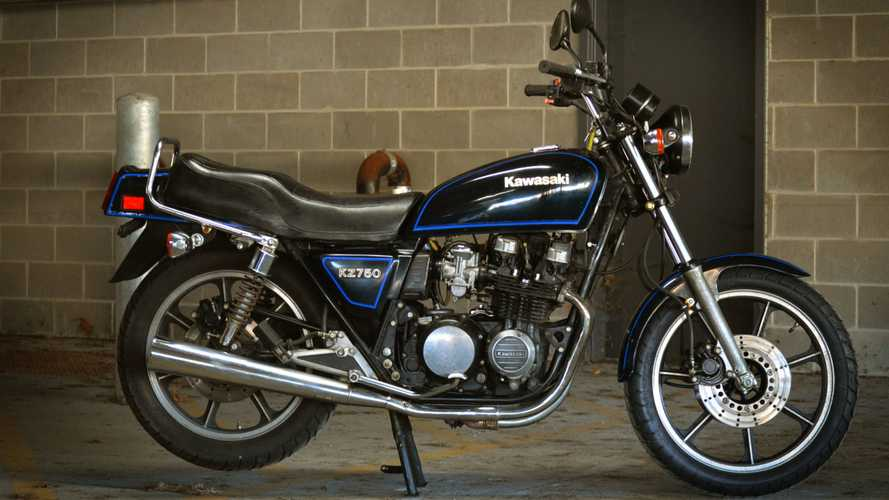 Blast From The Past: 1982 Kawasaki KZ750-E3 Sports