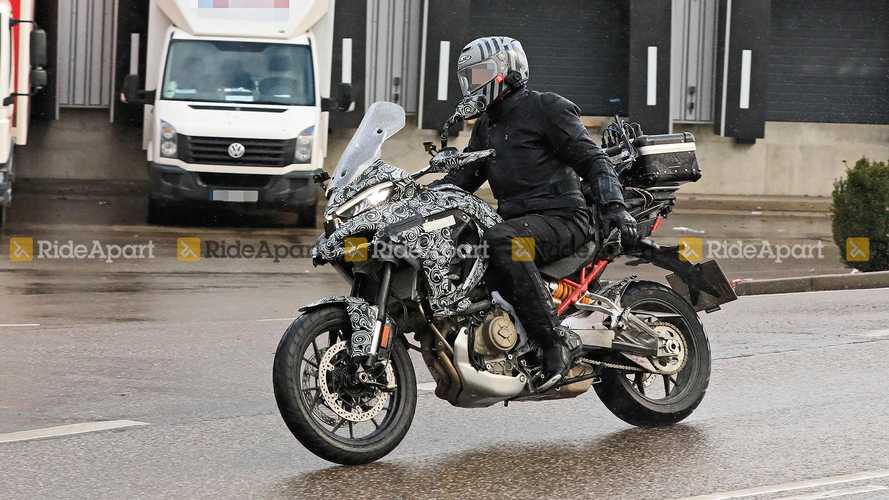 Spotted: The Ducati Multistrada V4 Test Mule Out In The Wild