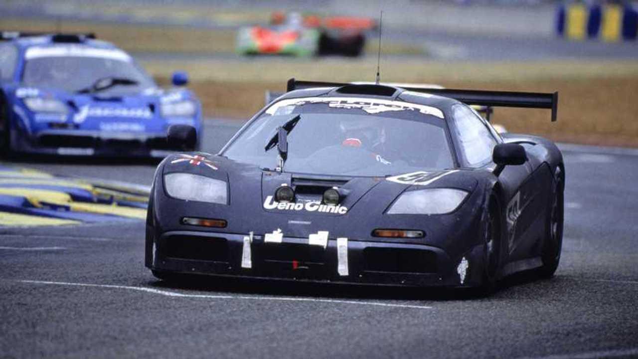 McLaren F1 GTR a Le Mans nel 1995