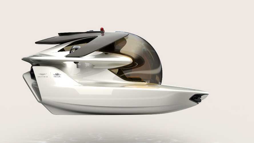 Buy yourself an Aston Martin submarine!