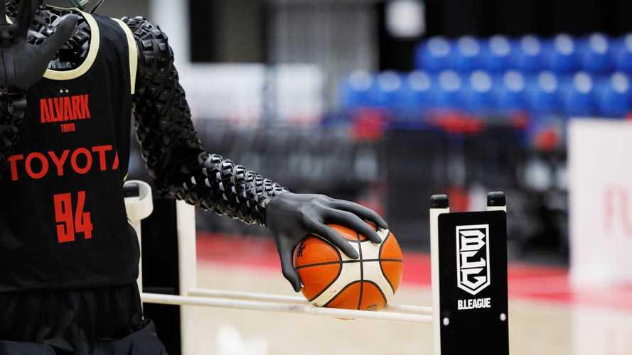 Toyotas Basketball-Roboter CUE4 bewegt sich phänomenal