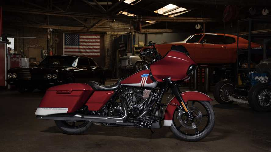 Harley-Davidson Road Glide Special Edition Two-Tone Paint