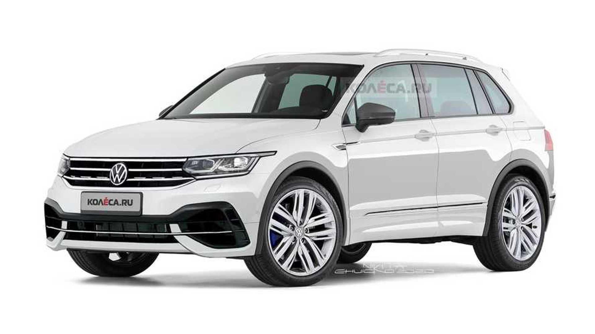2020 - [Volkswagen] Tiguan II restylé  - Page 2 Volkswagen-tiguan-r-renderings