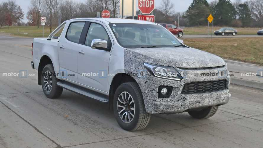 Australia's Holden Colorado Pickup Spied Testing In Michigan