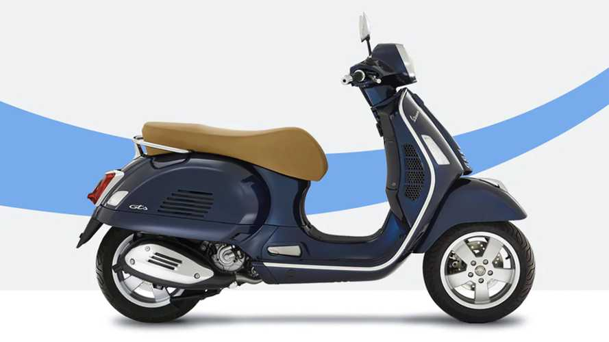 You Can Now Buy Any New Vespa Scooter Online