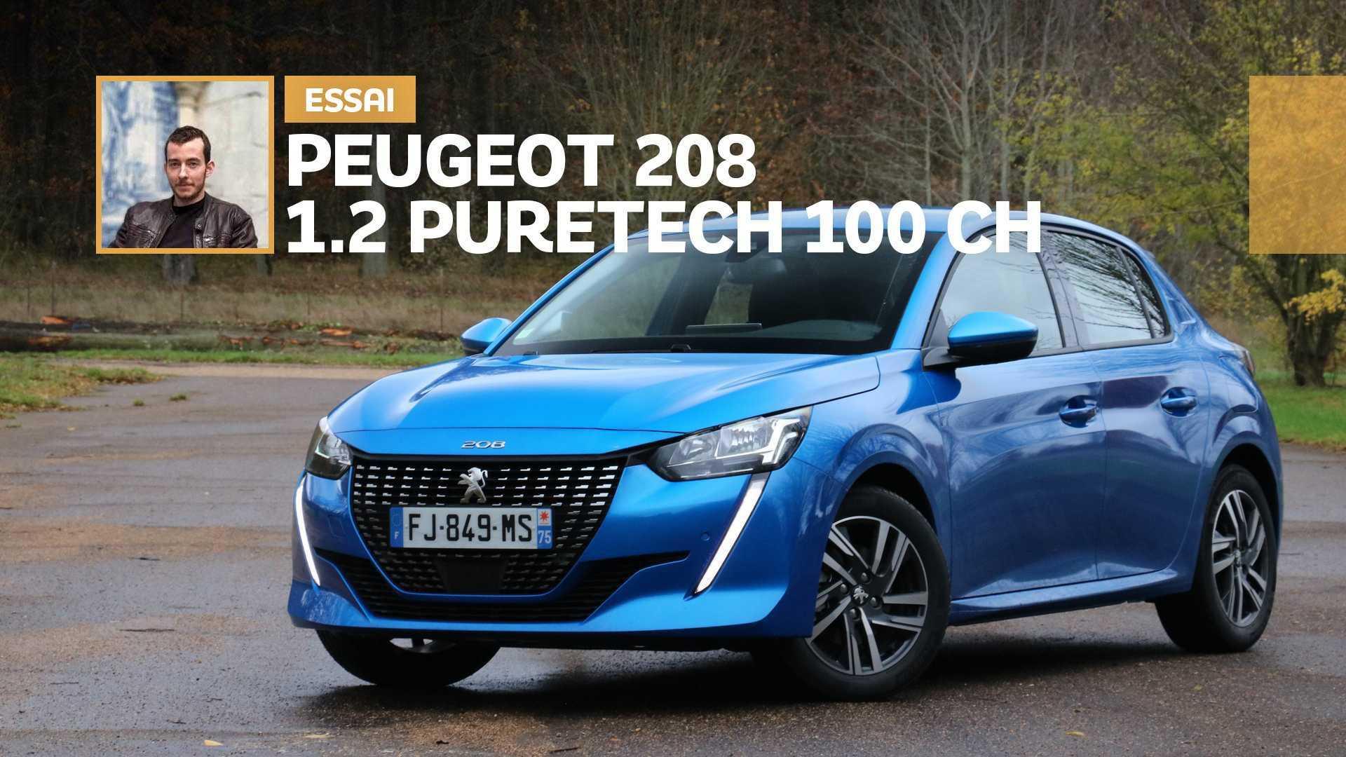 Essai Peugeot 208 1.2 PureTech 100 ch - A-t-on vraiment besoin de plus ?