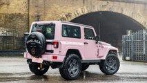 Jeep Wrangler rosa, preparación de Kahn