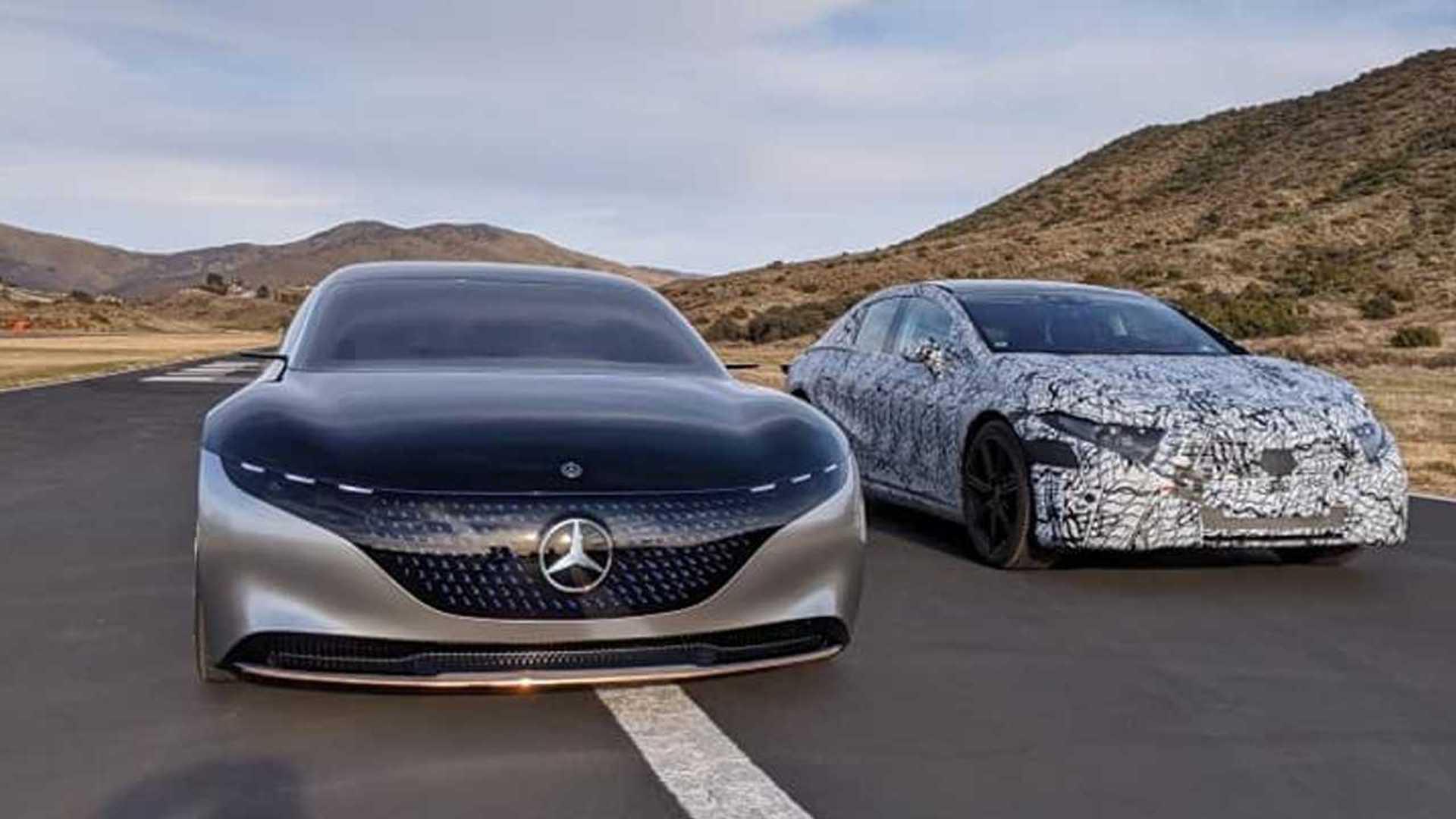 2022 Mercedes-Benz EQS 24