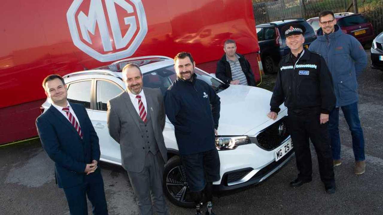 North west MG dealer backing a 3,400-mile electric car marathon