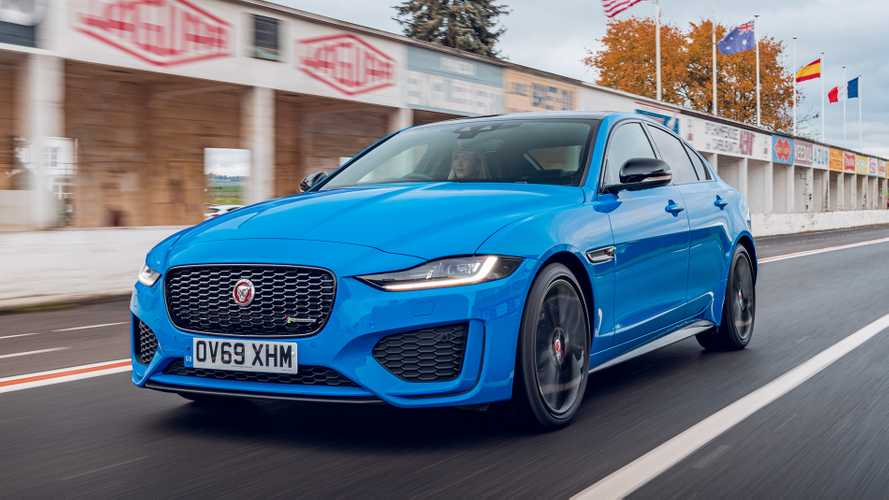 Jaguar pays tribute to historic Reims track with special-edition XE